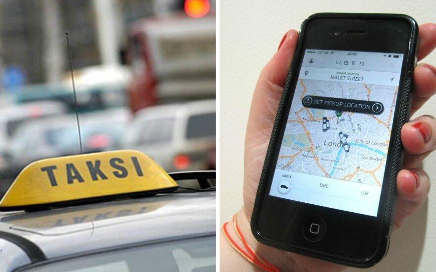 """Palygino sostinės taksi ir Talino """"Uber"""" kainas: įdomu, ar vilniečiai važiuos"""