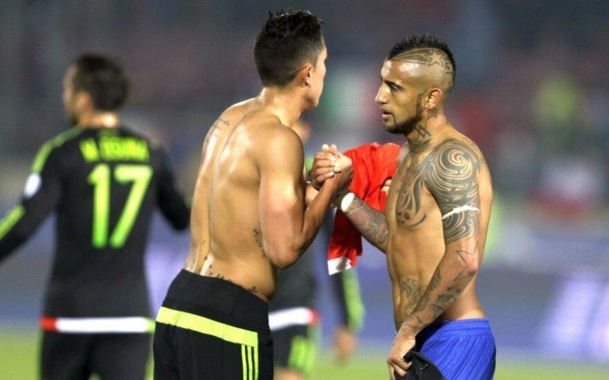 """""""Copa America"""" turnyre – tikra įvarčių fiesta"""