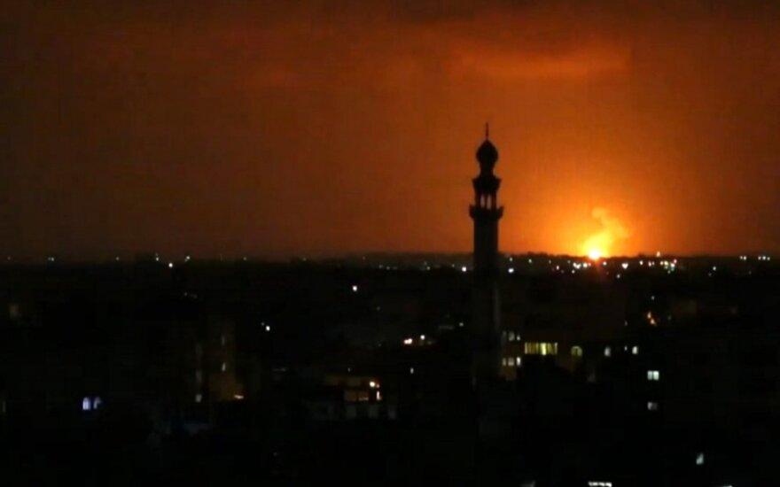 Izraelis smogė Gazos Ruožui