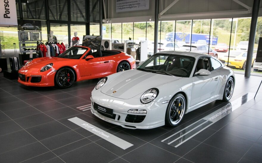 """Į Lietuvą atkeliavo unikalūs """"Porsche"""""""