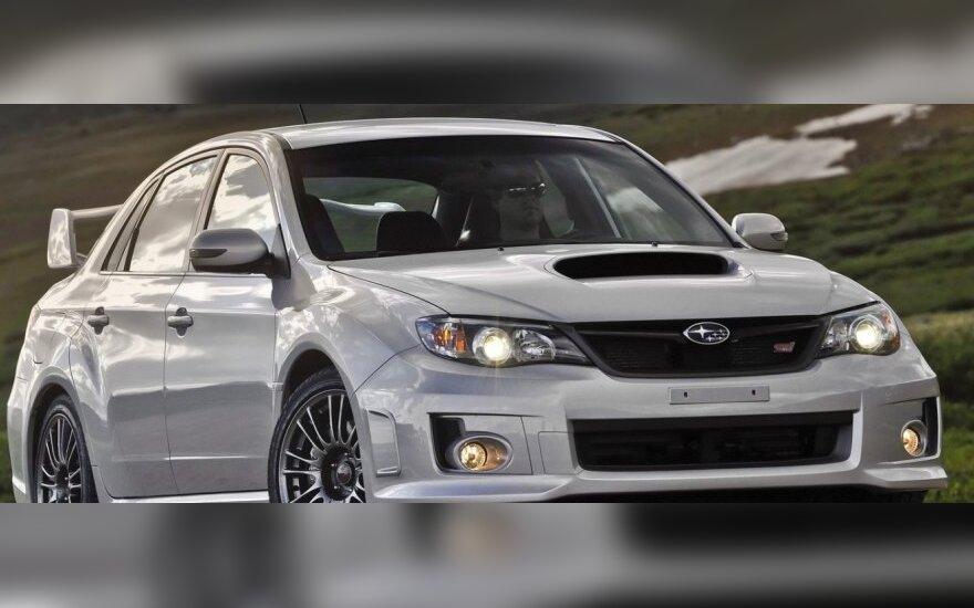 """""""Autopilotas"""": greitasis """"Subaru STi Racing"""""""