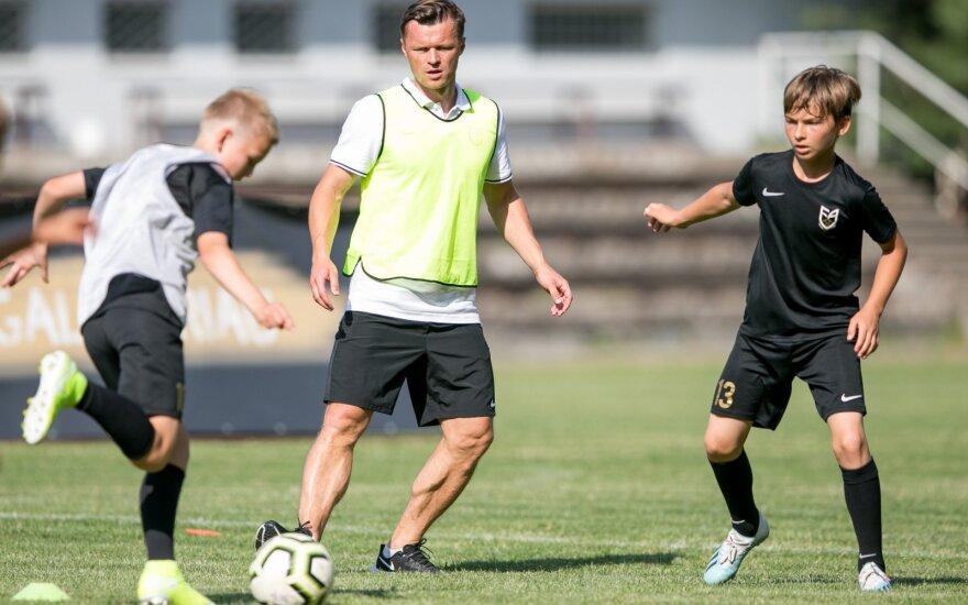 "Darvydas Šernas (Foto: ""Vilnius Football Academy"")"