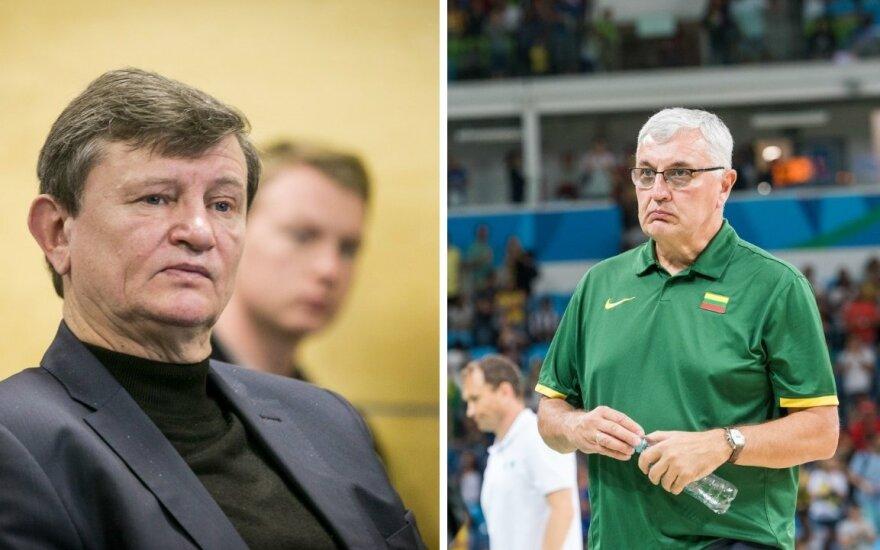Sergejus Jovaiša ir Jonas Kazlauskas (DELFI, A. Pliadžio nuotr.)