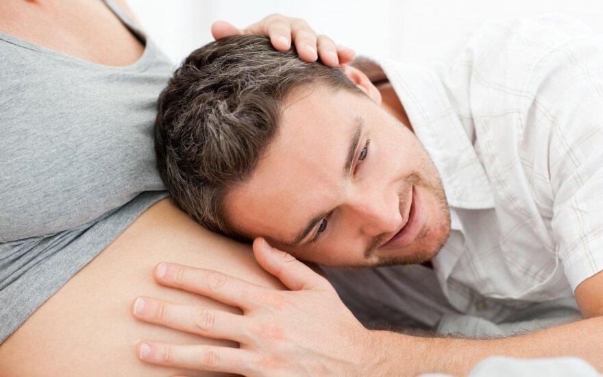 Šeimos pagausėjimas: vyrui pasiruošti užteks 3 mėn., moteriai – viso gyvenimo