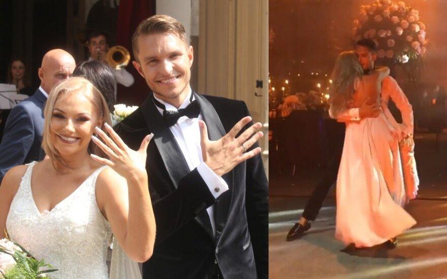 Martyno ir Rusnės Kavaliauskų vestuvių akimirkos