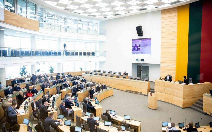Seime skubant keisti lobizmo įstatymą – siūlymas sudaryti darbo grupę