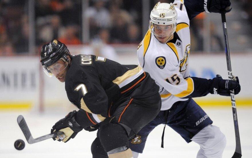 """NHL rungtynės: Anahaimo """"Ducks"""" - Nešvilio """"Predators"""""""