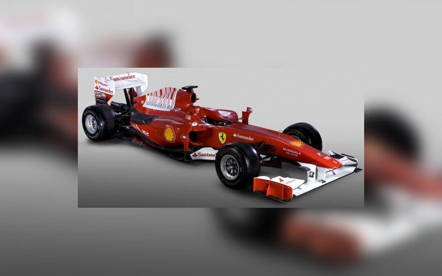 """""""Ferrari F10"""" bolidas"""