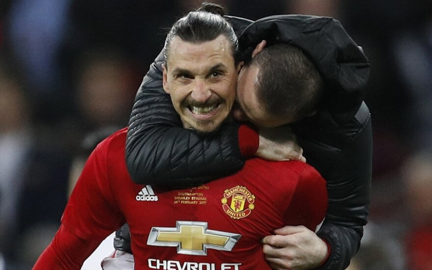 """Zlatanas Ibrahimovičius, """"Manchester United"""""""