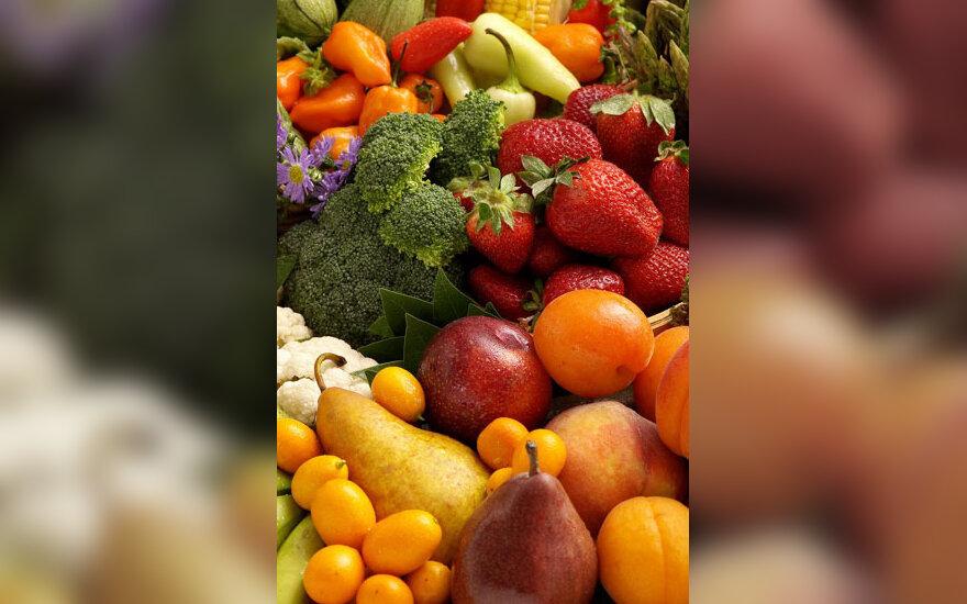 Daržovės, vaisiai