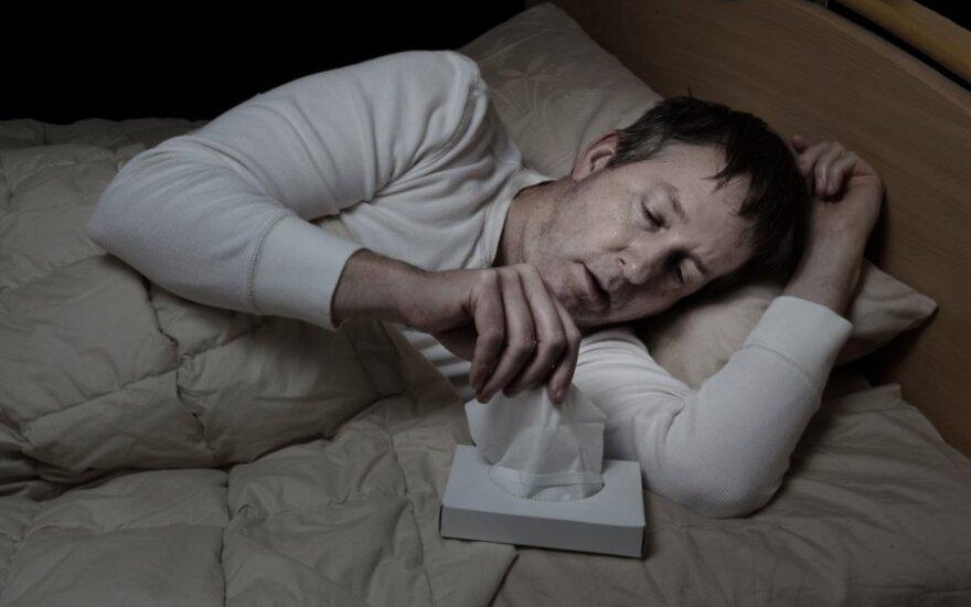Gripo epidemija: aplenkė ar dar anksti džiaugtis?