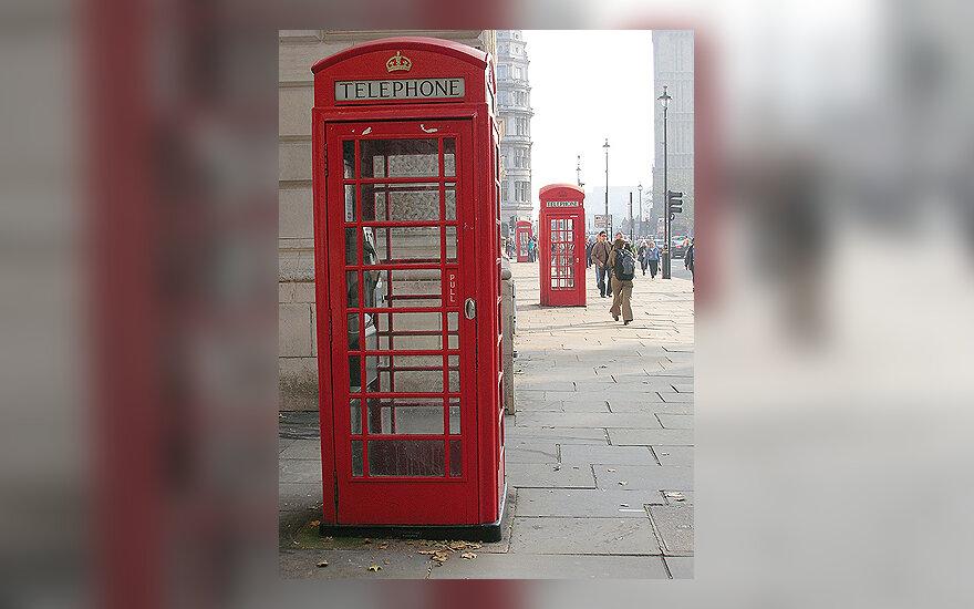 Telefonų būdelės Londone