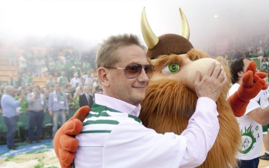 """Ūkio bankas pasirašė taikos sutartį su Kauno """"Žalgiriu"""""""