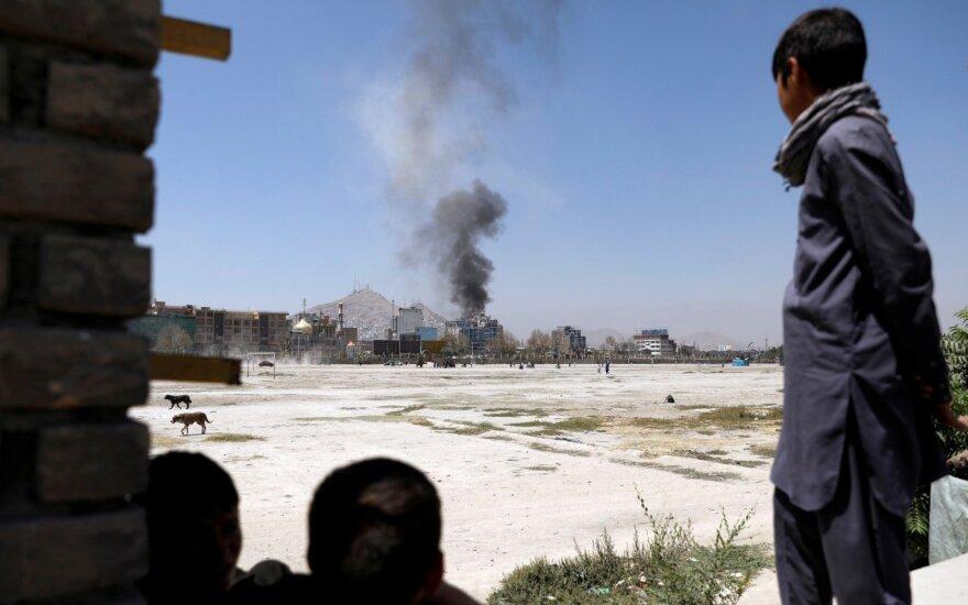Afganistane per aviacijos antskrydį prieš talibus nukentėjo 20 civilių, yra žuvusių