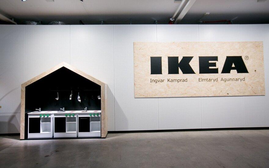 """""""Ikea"""" debiutuoja Indijos rinkoje"""