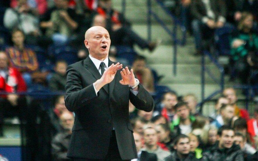 Latvijos lygos finalo serijos starte - triuškinanti R. Butauto auklėtinių nesėkmė