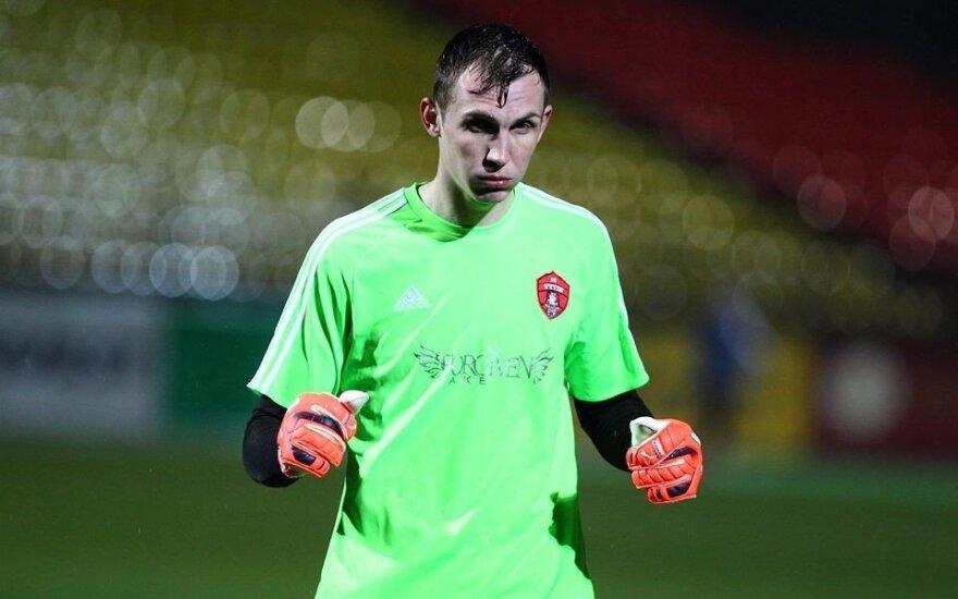 """Tomas Dudėnas (FC """"Vilniaus Vytis"""" žaidėjas)."""