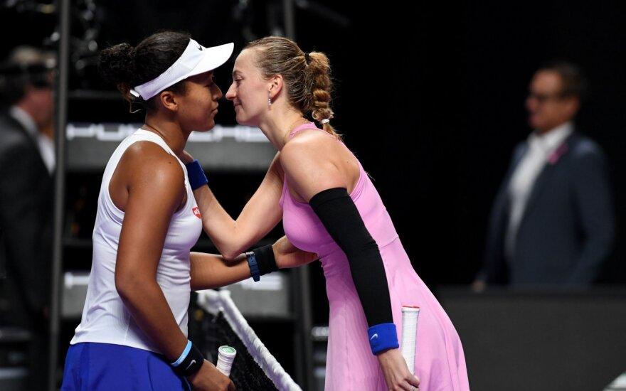 Naomi Osaka ir Petra Kvitova