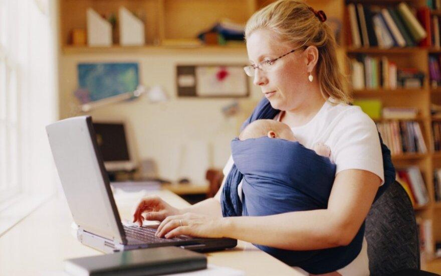 Parengtos priemonės, padėsiančios derinti šeimyninį gyvenimą ir darbą