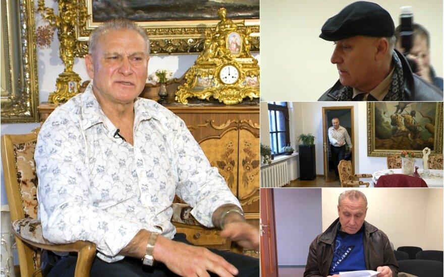 """Šiaulių """"princas"""" Vladas Baranauskas"""