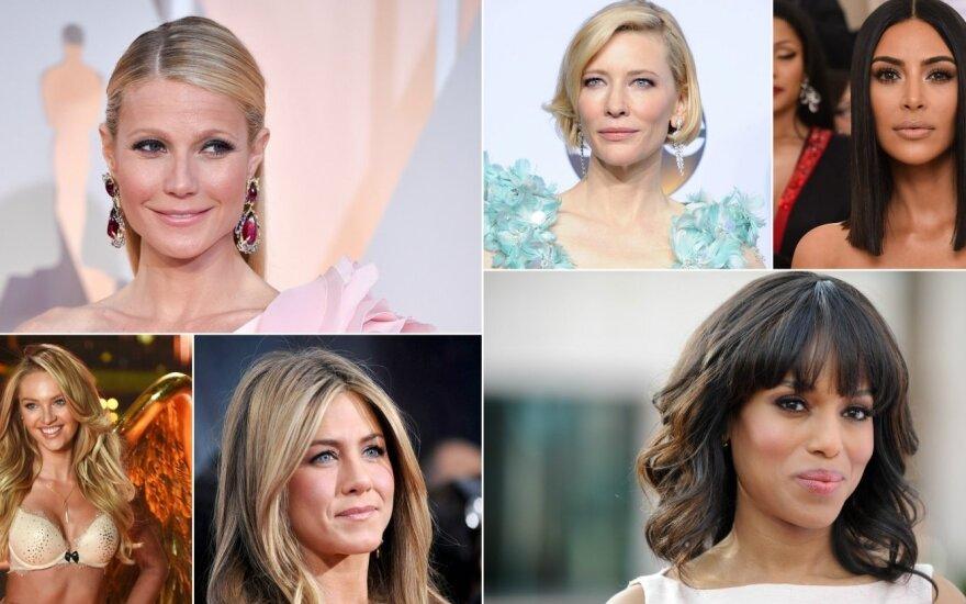 Žinomų moterų grožio paslaptys