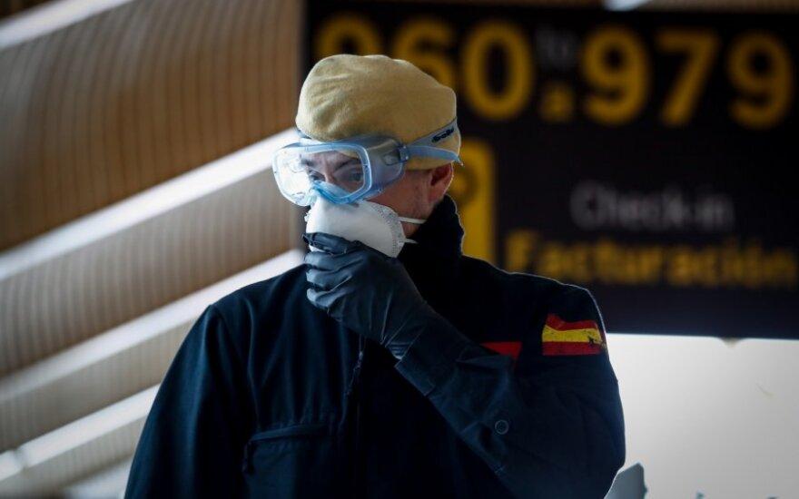 Ispanijoje mirė dar 435 COVID-19 pacientai, aukų skaičius didėjo antrą dieną iš eilės
