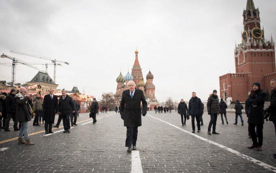 Britai bedė tiesiai į Putiną: tai jis davė įsakymą