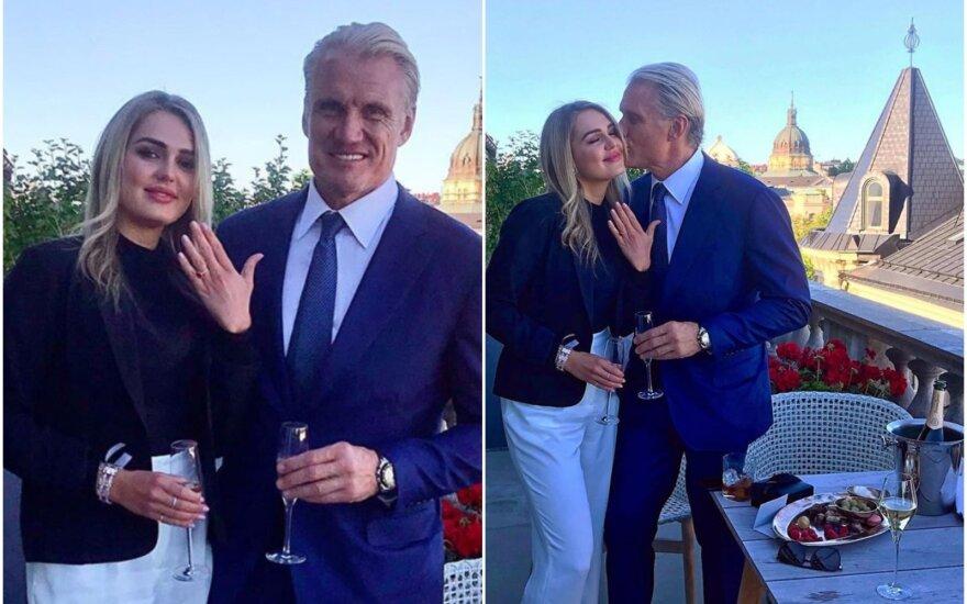 Dolphas Lundgrenas ir Emma Krokdal