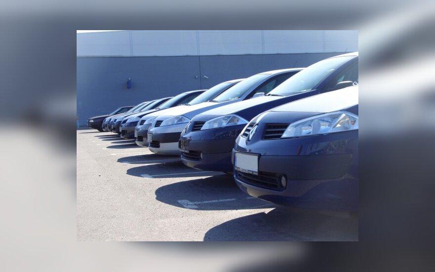 Parduodami automobiliai