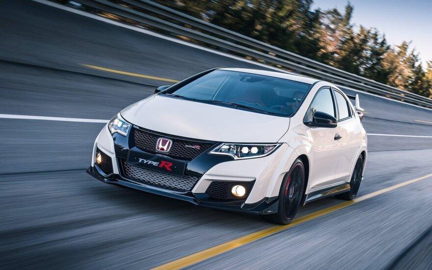 """Dabartinės kartos """"Honda Civic Type R"""""""