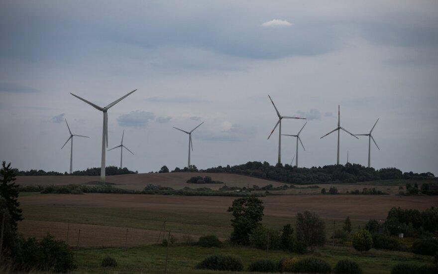 Vėjo jėgainės Pagėgiuose
