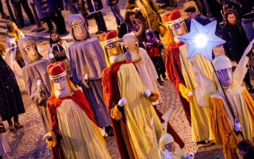 Kalėdos baigėsi - pražygiavo Trys Karaliai