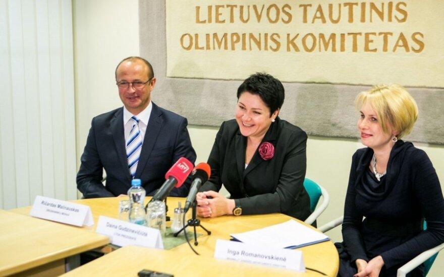 Ričardas Malinauskas, Daina Gudzinevičiūtė ir Inga Romanovskienė