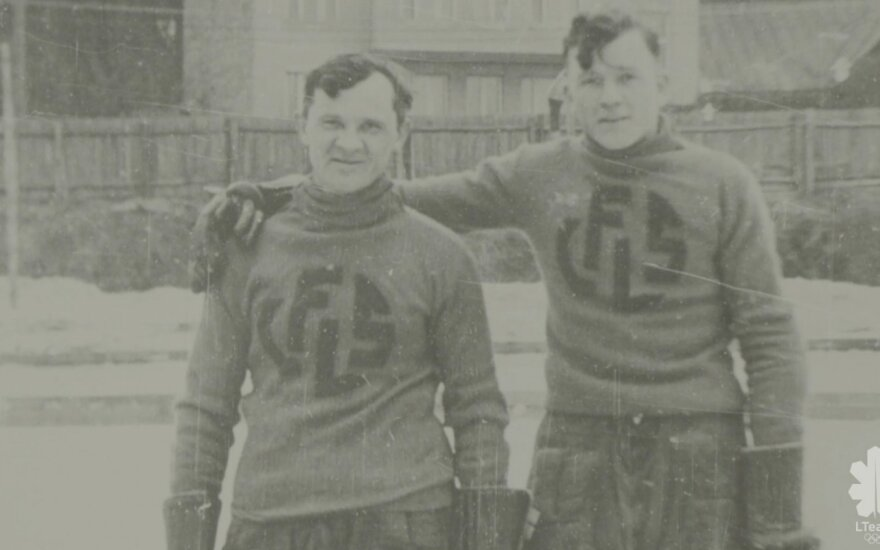 Kęstutis Bulota (kairėje)