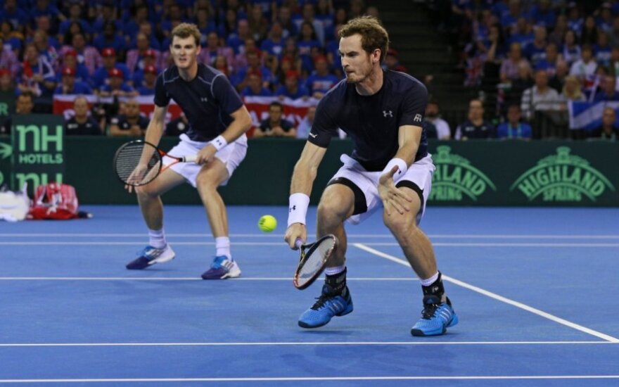 Jamie Murray ir Andy Murray
