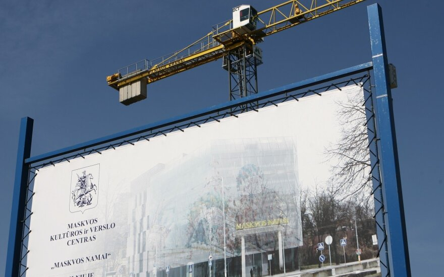 Constuction of the Moscow House in Vilnius