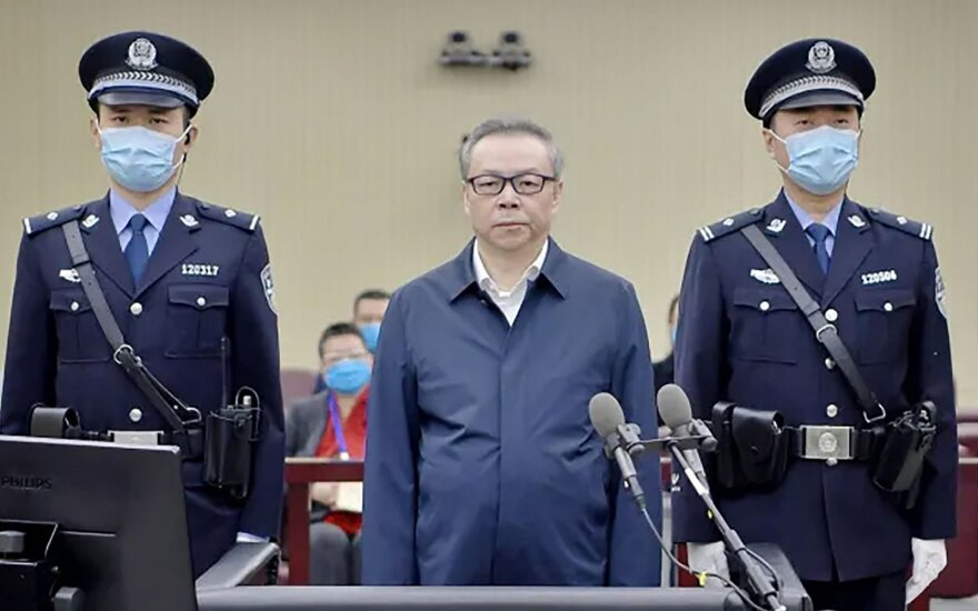 Lai, the former chairman of one of China s largest state-controlled asset management firms, was sentenced to death on January 5, 2021 for soliciting 260 million USD in bribes as well as bigamy.