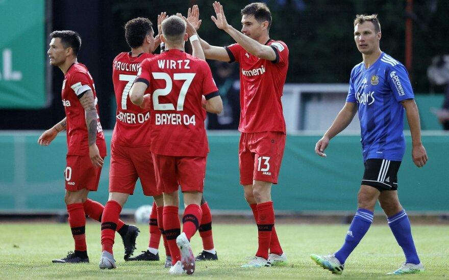 "Leverkuzeno ""Bayer"" futbolininkai (raudona apranga)"