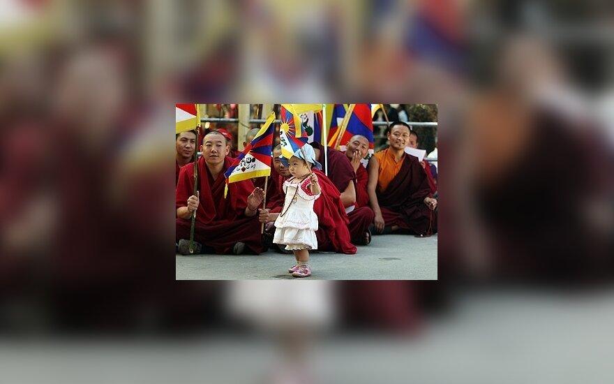 Tibetiečiai, Tibetas, protestai