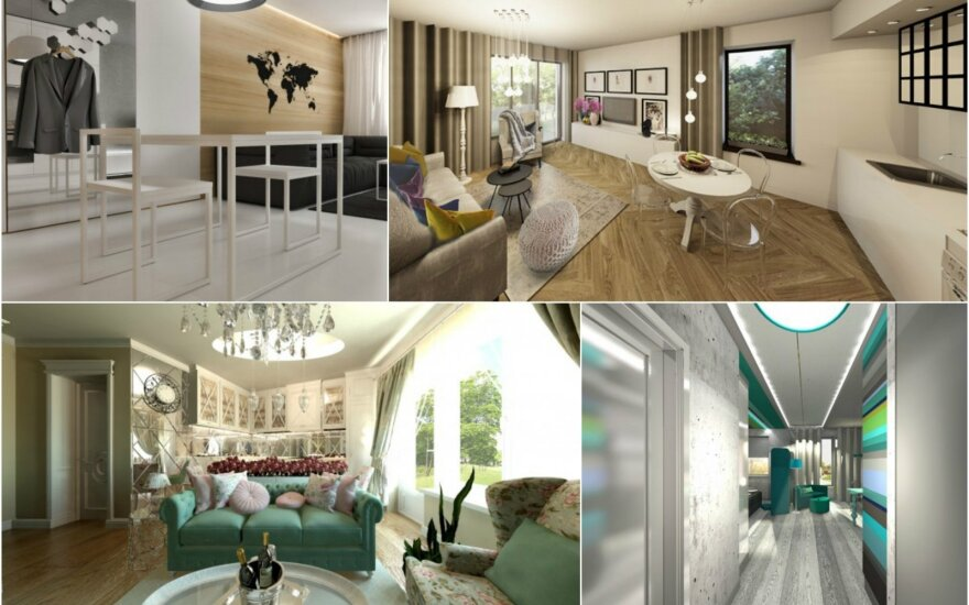 Nacionalinis interjero konkursas: išrinkite gražiausius namus