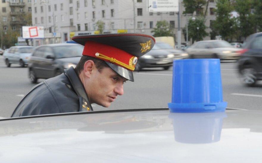 Maskvos policija sulaikė tris 1968-ųjų protesto Raudonojoje aikštėje minėjimo dalyvius