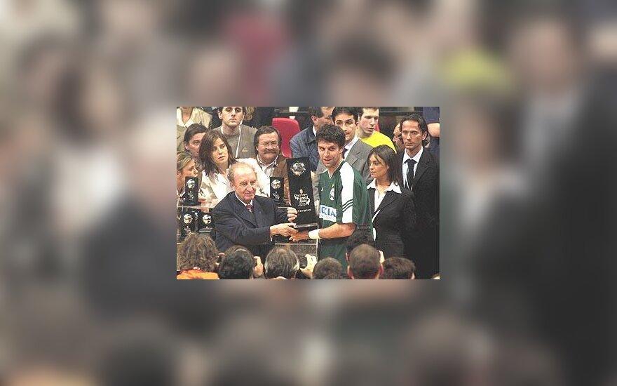 """""""Panathinaikos"""" laimėjo Eurolygos čempionatą"""