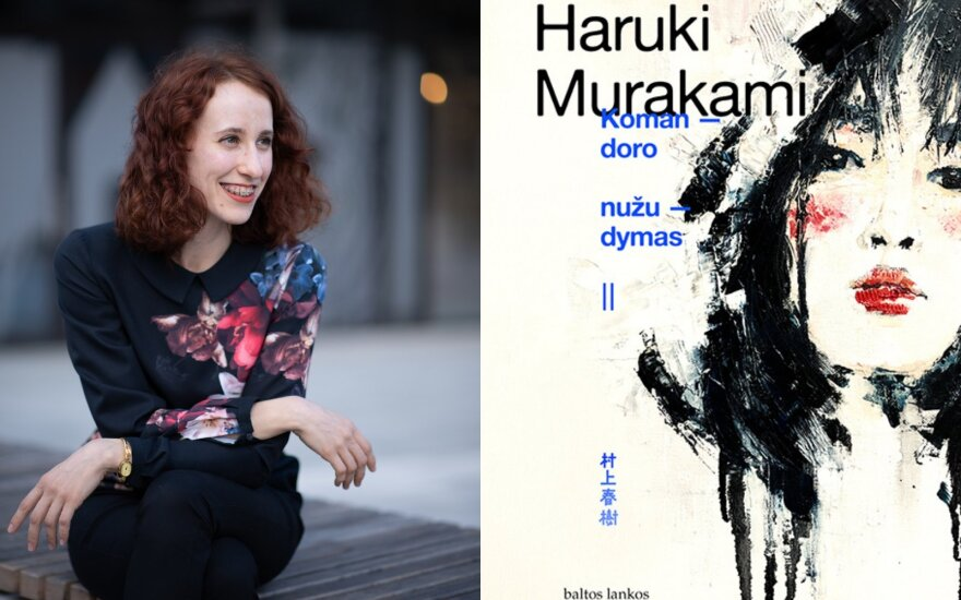 Vertėja Gabija Enciūtė. Murakami Komandoro nužudymas
