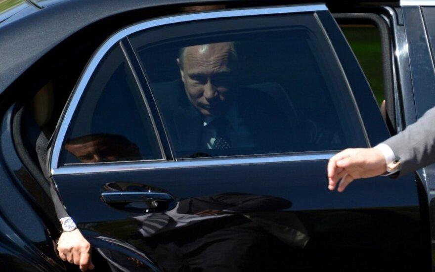 V. Putinas kuria Rusiškąjį pasaulį: tai ne juokas