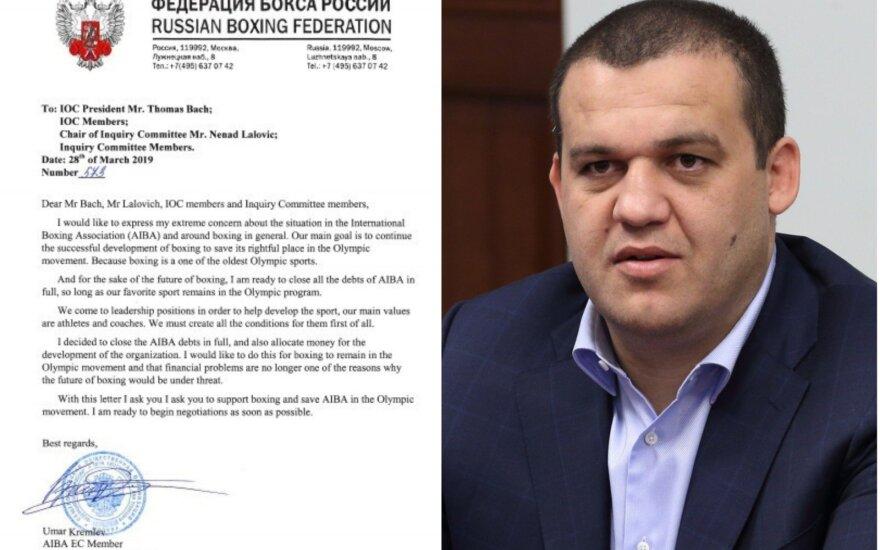 Umaras Kremlevas pateikė pasiūlymą IOC