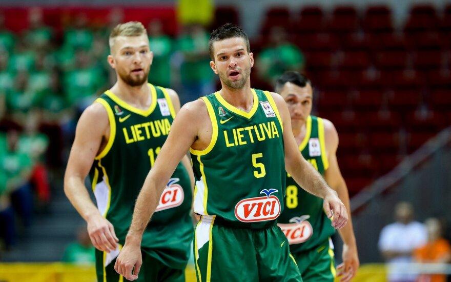 Lietuvos rinktinės rungtynės pasaulio čempionate – darbo dienos metu