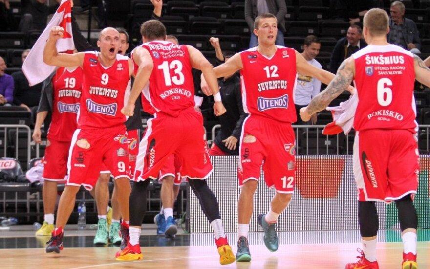 Baltijos krepšinio lygoje pergalę šventė Utenos klubas