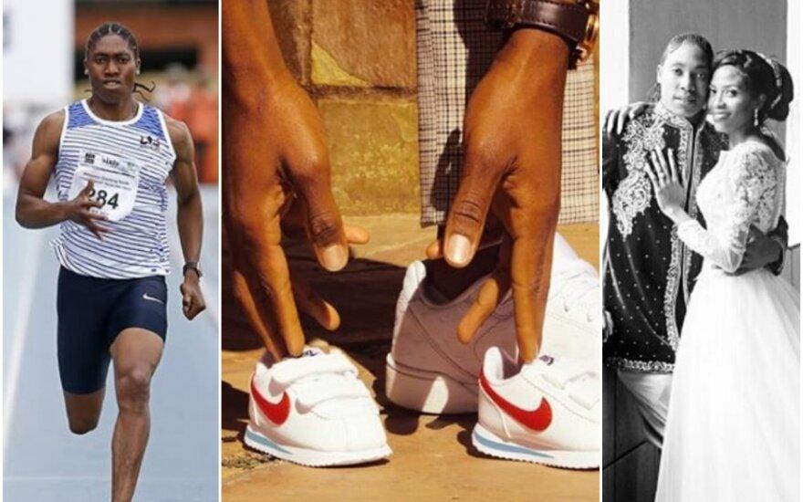 "Caster Semenya, Violeta Raseboya / FOTO: ""Instagram"""