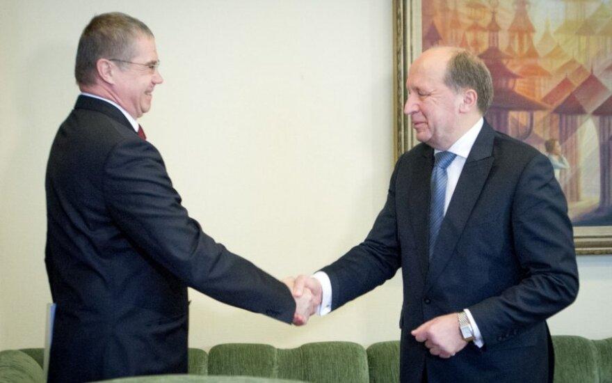 Aleksandras Medvedevas ir Andrius Kubilius