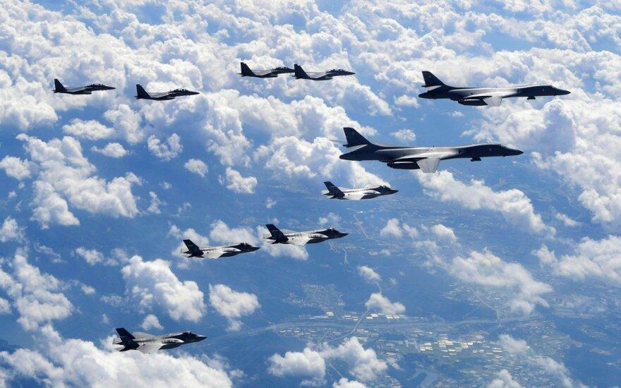 JAV kariuomenės pasirengimo Korėjos pusiasalyje Pchenjano pareiškimas nekeičia